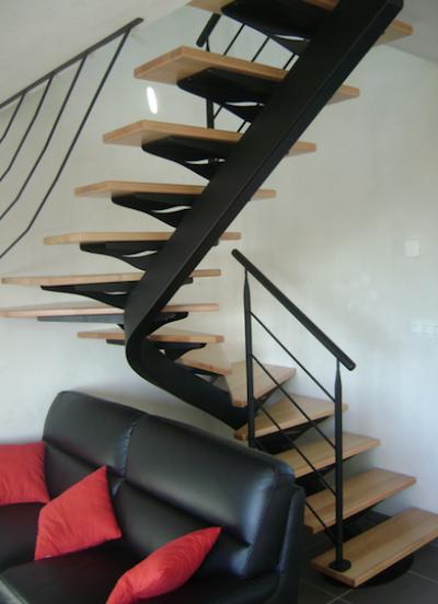 Escalier Lotus 01